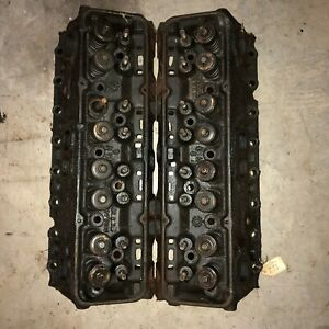 1970 Chevrolet Sbc Cylinder Head 3832441 D 8 0 E 5 0 1 94 Valves Good Cores