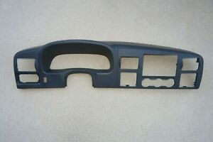 05 07 Ford F250 F350 Dash Panel Bezel Trim Super Duty Vents Dark Charcoal Gray