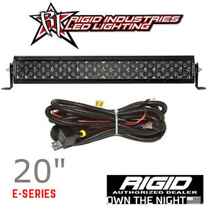 Rigid Industries Midnight Edition E series Pro 20 Led Light Bar With Harness