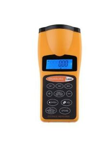 Ultrasonic Distance Measurer Laser Point Cp 3007 Yellow