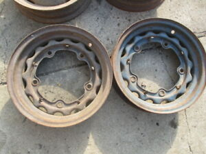 Ford Flathead Rat Rod 37 38 1939 Wide 5 Wheels Rims 16 X 4