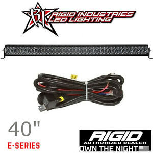 Rigid Industries Midnight Edition E series Pro 40 Led Light Bar With Harness