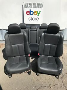 13 16 Nissan Altima S Sv Sl Seats Black Leather Power Heated Full Set Oem