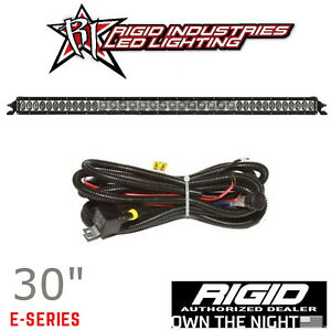 Rigid Industries Sr series Pro 30 Spot Driving Combo Led Light Bar With Harness