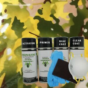 Hydrographic Water Transfer Hydro Dipping Dip Kit Activator Film Army Camo 4
