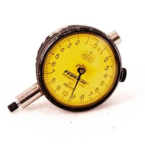 Federal P11 Dial Indicator Precision 0 002mm Travel 1mm Flat Back