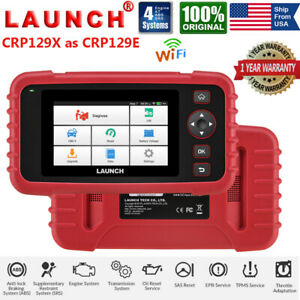 Launch X431 Crp129 X Obd2ii Engine Abs Srs Diagnostic Scanner Epb Sas Tpms Reset
