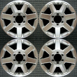 Set 2014 2015 2016 2017 2018 Toyota 4runner Fj Cruiser Oem 17 Wheels Rims 75154