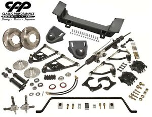 1937 48 Chevy Fleetline Stylemaster Mustang Ii Ifs Conversion Kit Stock Spindles