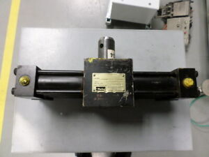 Parker Hydraulic Rotary Actuator Htr10 180 aa12 c