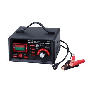 Code Auto Tools 2 10 50 Amp 12 Volt Battery Charger Engine Starter