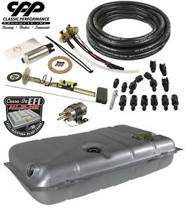 1941 48 Ford Deluxe Efi Fuel Injection Gas Tank Fi Conversion Kit 90 Ohm