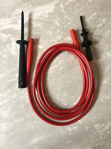 60 Mc Test Cable Banana Cat Iv 1000v W probe Tip And Hook