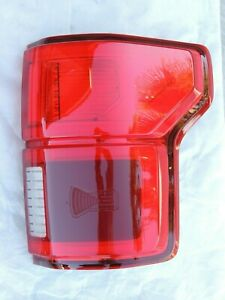 2018 F150 Rh Led Tail Light With Blind Spot New Style Right Pass Side Oem Ford
