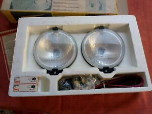 Vintage Pair Bosch Pilot 160 Fog Driving Lights