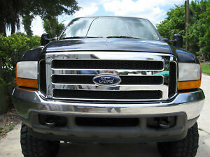 Ford Chrome Grille Conversion Fits 1999 2004 Super Duty F250 F350 And Excursion