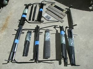 New Used Bmw Seat Rails Left right Sides Covers Mostly Recaro Parts Rare