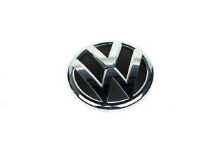 11 16 Vw Volkswagen Jetta Mk6 Trunk Lid Emblem Badge Logo Chrome 5c6853630 Oem