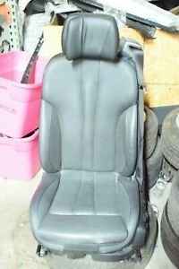 Bmw F12 Front Left Driver Complete Seat Chair Heated Comfort Leather Oem