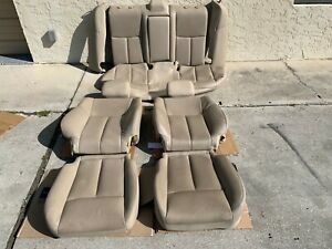 2013 2015 Nissan Altima 2 5sl Front And Rear Leather Seat Cushion Set Tan Used