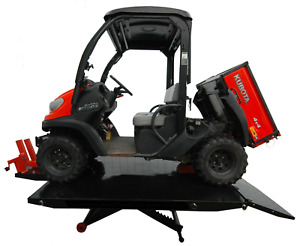 Apluslift Mt1500xlt Air Op 1 500lb Motorcycle Atv Lift Table 72 With Side Ex