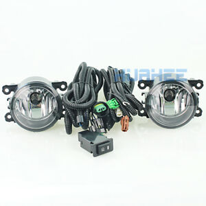 For 2005 2006 2007 2008 2009 Nissan Patrol Y61 Bumper Fog Light Kit bulb Wiring