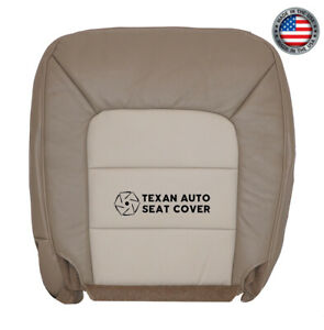 2003 2005 Ford Expedition Eddie Bauer 5 4l driver Bottom Leather Seat Cover Tan