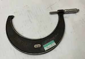 Moore Wright Outside Screw Thread Micrometer 5 To 6 8 13p Nice
