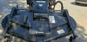Bobcat 90 Finish Mower Attachment For A Skid Steer Loader