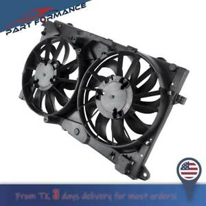 Radiator Condenser Cooling Fan Assembly 13269460 For Buick Cadillac Chevrolet
