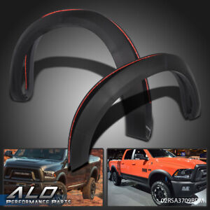 For 2009 2018 Dodge Ram 1500 Textured Black Factory Style Bolt On Fender Flares