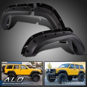 For 84 01 Jeep Cherokee Xj 4 door Pocket Rivet Off road Wheel Wide Fender Flares