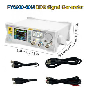 60mhz Dds Signal Generator Arbitrary Waveform 2 4 inch Tft Color Lcd Display