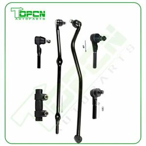 6x Front Steering Tie Rods Track Bar For 1993 1994 1998 Jeep Grand Cherokee 4 0l