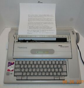 Smith Corona Display Dictionary Electric Typewriter model Na3hh