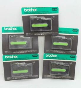 Brother 6020 Cassette Ep 20 Refill Black Ink Ribbons Lot Of 5 New Cartridges
