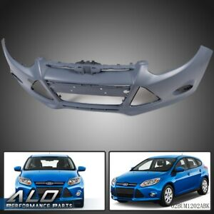 Front Bumper Cover For 2012 2014 Ford Focus Hatchback Sedan Front Unpainted