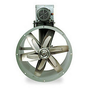 Replacement 24 Tubeaxial Fan Motor Kit For Paint Spray Booth Exhaust 7f960