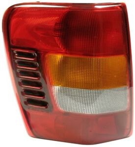Fits 2002 2004 Jeep Grand Cherokee From 11 01 Driver Left Rear Tail Light Lamp