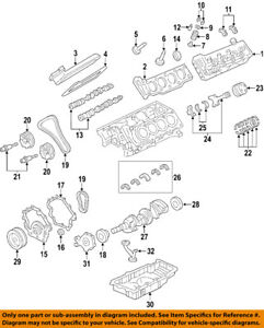 Cadillac Gm Oem 06 10 Sts Engine Valve Cover 12591268
