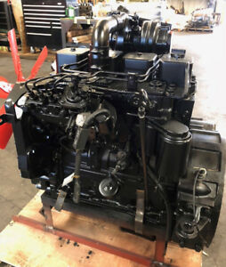 Cummins 4bt 105hp Complete Diesel Engine
