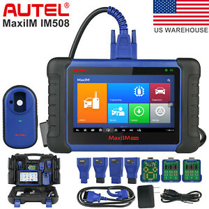 Autel Im508 Immo Key Programming Tool Auto Diagnostic Scanner For Honda Toyota