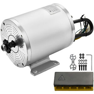 Electric Brushless Motor 2000w 60v Dc For E bike Scooter Bicycle Conversion