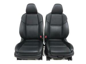 Nissan Maxima Black Leather Front Seats 2016 2017 2018 2019