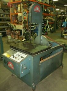 Vertical Roll in saw Band Saw 3 Phase 208 3 Phase Tf1420 3717isu