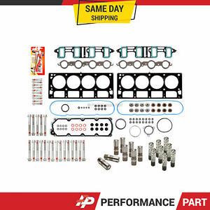 Head Gasket Set Bolts Lifters For 07 11 Gmc Chevrolet 6 0 Cadillac 6 2 Ohv Afm