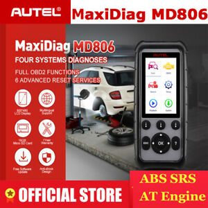 Autel Md806 Auto Car Diagnostic Tool Obd2 Code Reader 4 System special Functions