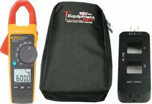 Fluke 902 Fc Pro Te True rms Wireless Hvac Clamp Meter With Soft Case And Line S