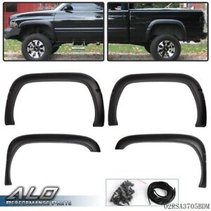 Textured Factory Style Wheel Fender Flare For 1994 2001 Dodge Ram 1500 2500 3500