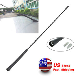 Usps Fast 16 Universal Car Antenna Radio Am Fm Antena Roof Mast Long Whip Style